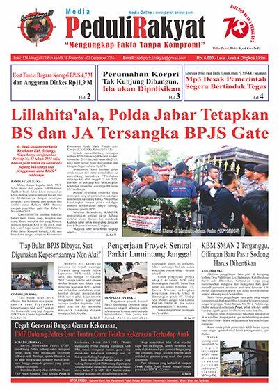 Koran Peduli Rakyat Edisi 134