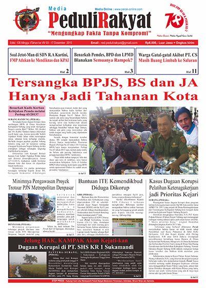 Koran Peduli Rakyat Edisi 135