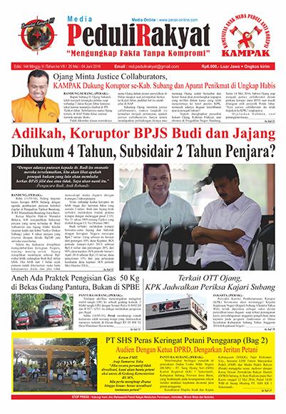 Koran Peduli Rakyat Edisi 144