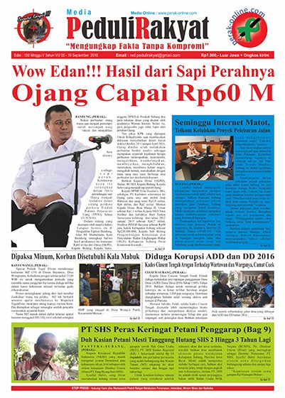 Koran Peduli Rakyat Edisi 150