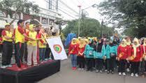 Sambut HUT PPNI KE-43, DPD PPNI Subang Gelar Jalan Santai