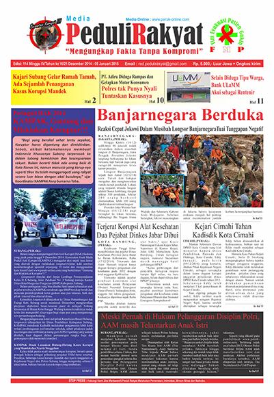 Koran Peduli Rakyat Edisi 114