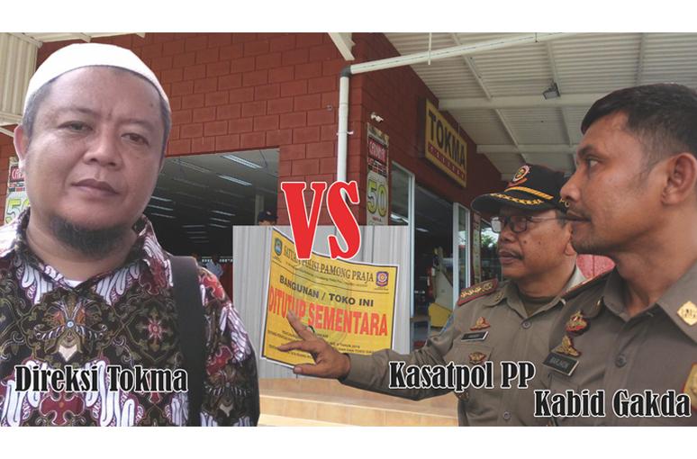 Tokma Pagaden Segel Dirusak Lagi Tokma Ilegal di Subang Melawan Pemerintah