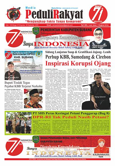 Koran Peduli Rakyat 149