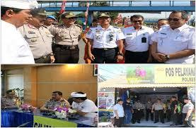H-2 Puncak Kemacetan Pelabuhan Gilimanuk, Wakil Gubernur Bali Bersama Wakapolda Bali Pantau Arus Mudik
