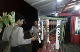 Jelang Idul Fitri, Polsek Panarukan Larang Penjual Petasan Beroperasi