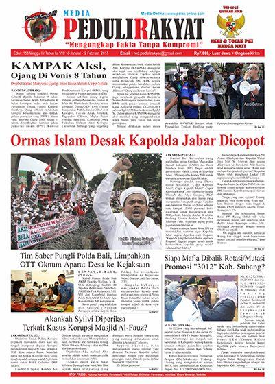 Koran Subang Peduli Rakyat Edisi 158
