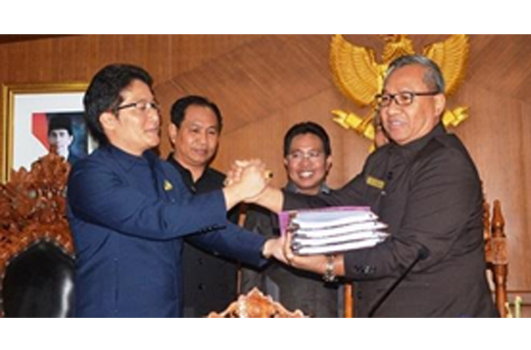 Pemkab Badung Gelar Sidang Paripurna Raperda dan DPD