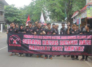 Aksi HAK dan HAM Sedunia, KAMPAK Desak Bupati Copot Sekda dan Ka. BKPSDM