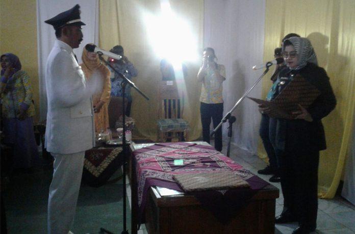 Imas Lantik 3 Kades Terpilih di Kecamatan Cisalak dan Kasomalang
