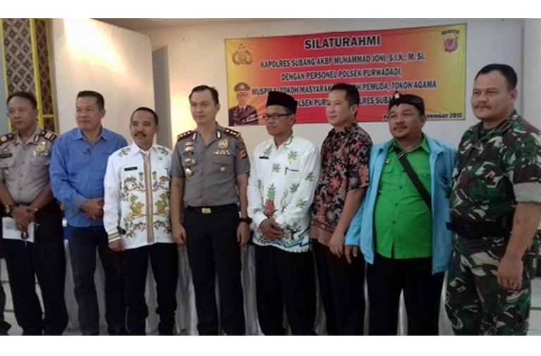 Kapolres Subang Lakukan Kunker di Purwadadi