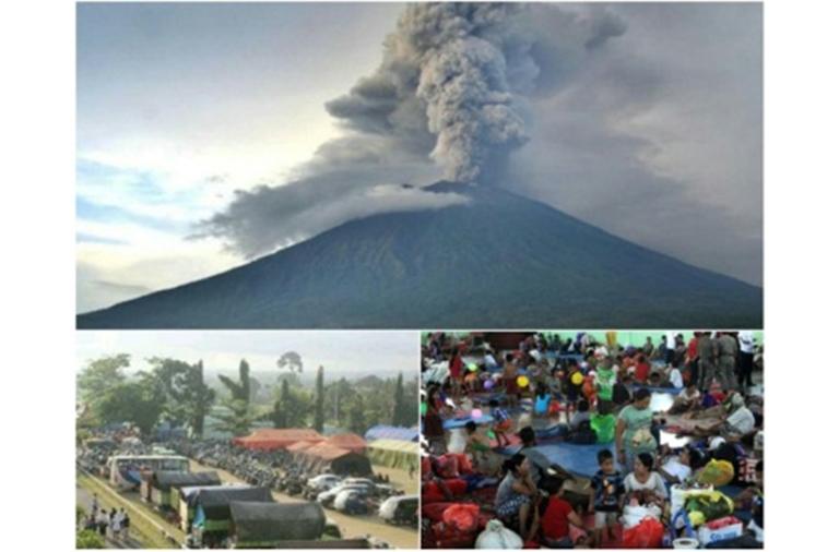 Status Erupsi Gunung Agung Darurat Awas