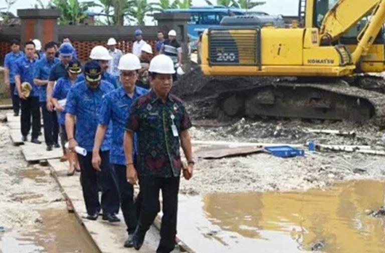 Wabup Badung Monitoring Sejumlah Pembangunan Bernilai Besar