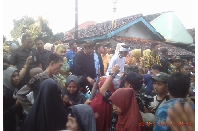 Antusias Warga Subang Sambut 2 DM Cagub-Cawagub Jabar