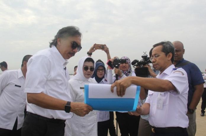 Deputi III Kemen Kemaritiman Tinjau Pelabuhan Internasional Patimban