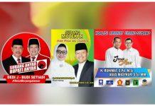 Dipastikan 3 Paslon Bertarung di Pilkada Subang