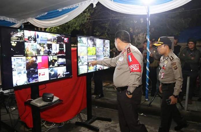 Kapolda Bali Cek Pengamanan Tahun Baru di Kuta