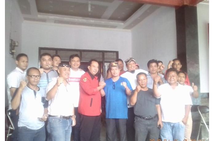 Ketua DPC Partai Nasdem Silaturahmi ke Kantor DPC PDIP Subang
