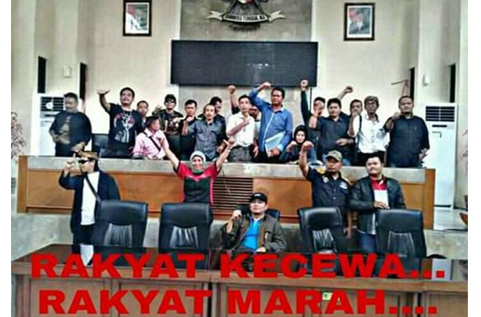 Merasa Diremehkan Oleh DPRD Subang, GOPS Ancam Gelar Unras Berkekuatan Besar