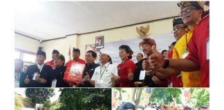 Paslon Koster-Ace Mendaftar ke KPU, Dihadiri Partai Pendukung dan Ribuan Simpatisan