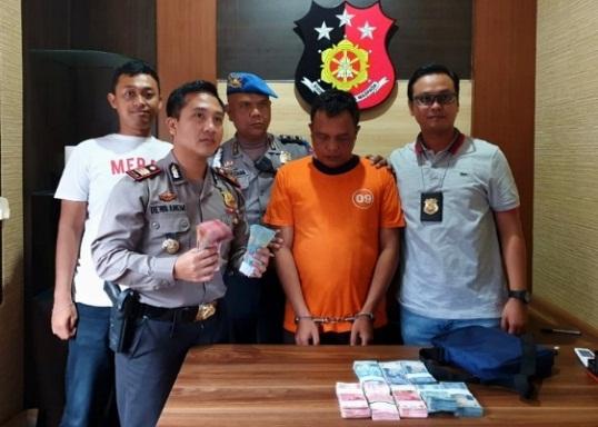 Security BRI Winangun Gelapkan Uang Perusahaan Diringkus Polisi