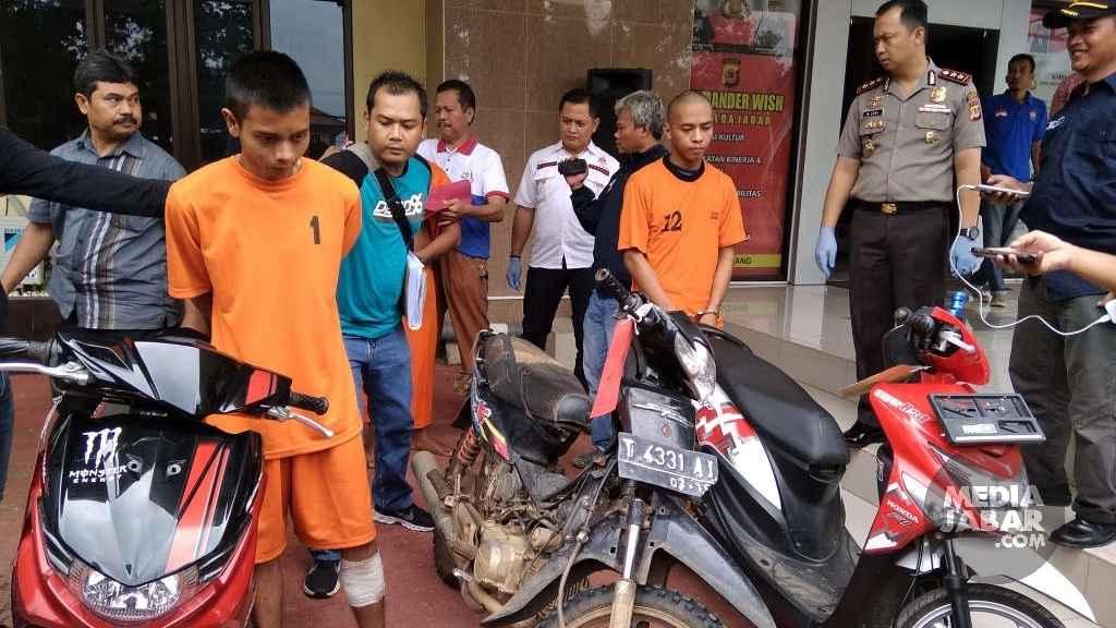 Polres Subang Rinkus Pelaku Ranmor
