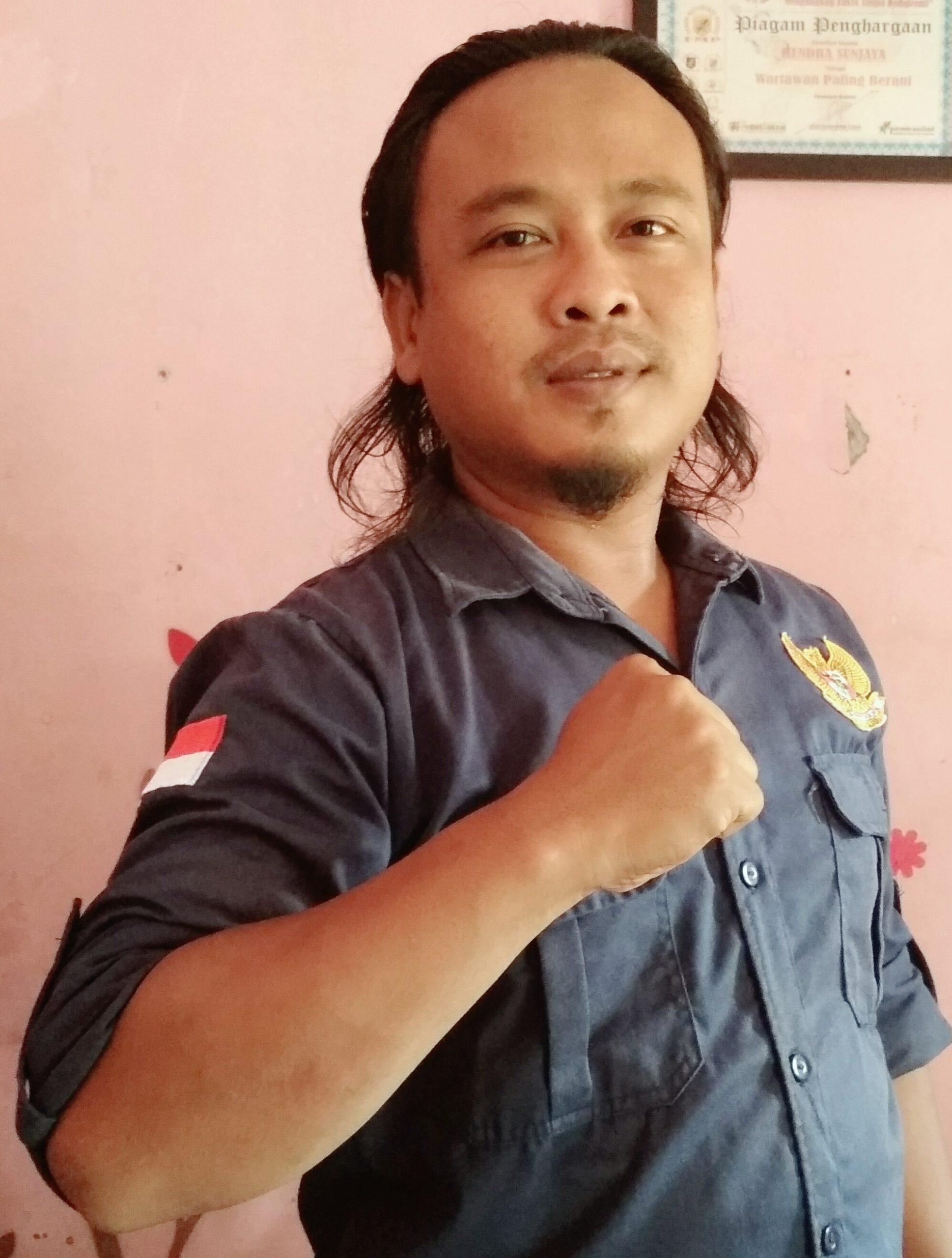 Ketua Karang Taruna Desa Sukamandijaya