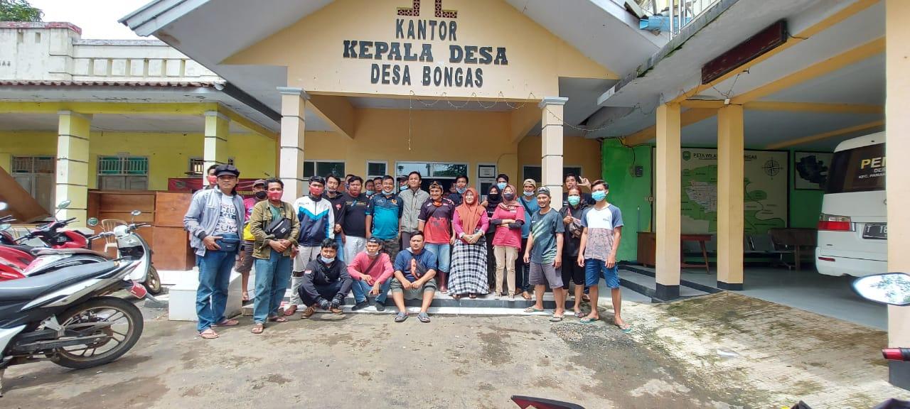 Pemda Subang tak Peduli Tanggul Sungai Jebol Akibatkan Banjir, Pemuda Pantura Gelar Aksi Donasi Goceng Pertama