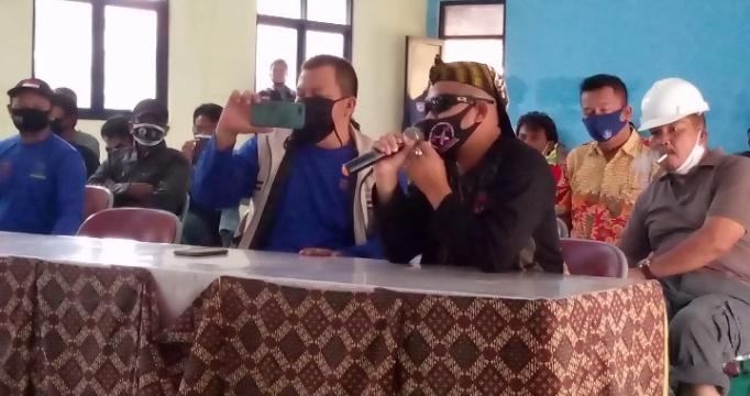 KSOP Pelabuhan Patimban Ingkar Janji, Puluhan Nelayan Geruduk Kantor Pemcam Pusakanagara