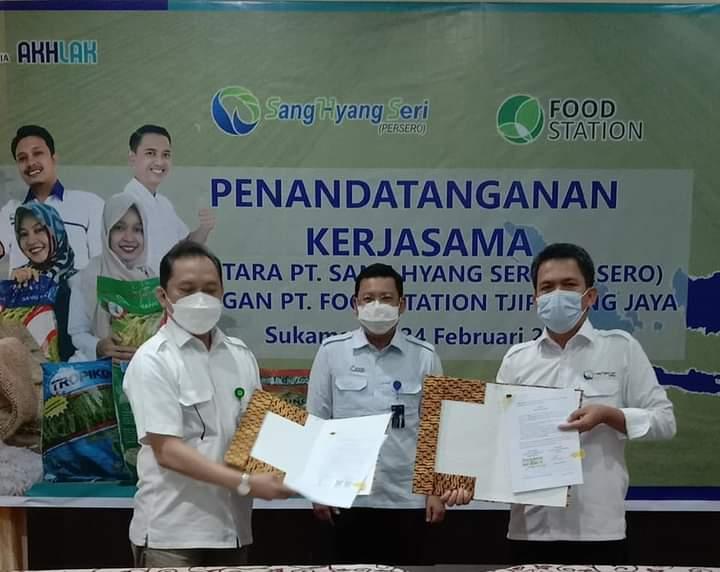 Siapkan 1000 Hektar Sawah, PT SHS Gandeng BUMD Jakarta Tandatangani MoU